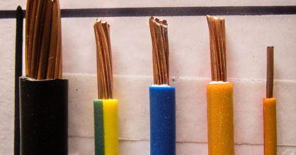 Вибір перерізу проводів і кабеля в залежності від струму і потужності