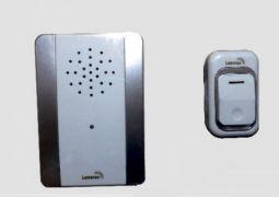 Звонок дверной дистанционный Lemanso 230V белый с серым LDB17