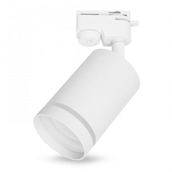 Трековий світильник під лампу GU10 Feron ML338 білий