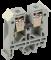 Зажим наборной ЗНИ-6мм2 (JXB50A) серый IEK