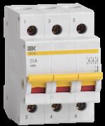 Выключатель нагрузки ВН-32 3Р 25А ІЕК MNV10-3-025