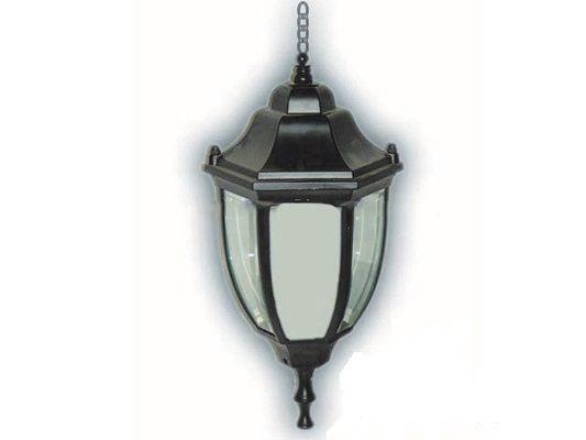 Светильник уличный черный, на цепочке 60W IP44 Lemanso PL5105