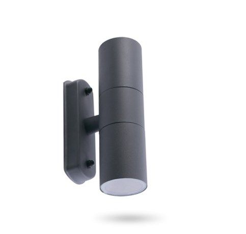 Архитектурный светильник 2хGU10 Feron DH0704 серый