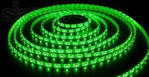 Светодиодная LED лента SMD3528 60 IP20 зеленая (Standart)