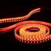 Світлодіодна LED стрічка SMD3528 120 IP20 червона (Standart)