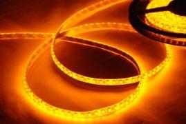 Світлодіодна LED стрічка SMD3528 120 IP65 герметична жовта (Standart)