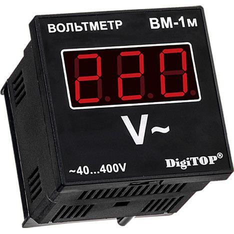 Вольтметр DigiTOP ВМ-3М в трехфазной сети