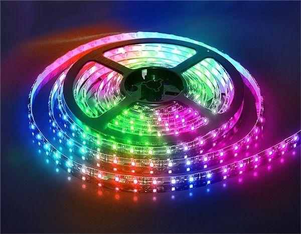 Светодиодная LED лента SMD5050 60 IP33 RGB (Standart) - купить в Украине: цена, характеристики, отзывы | Elektrovoz