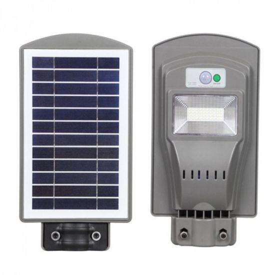 LED світильник вуличний 20W на сонячній батареї 6500K IP65 VARGO Unilite VS-109545