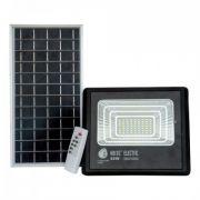 Прожектор світлодіодний з сонячною панеллю 40W 6400K TIGER
