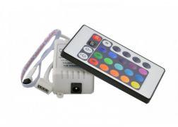 RGВ контроллер IR инфракрасный 24 кнопки на пульте