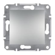 Вимикач одноклавішний самозажимний Алюміній ASFORA Schneider Electric EPH0100161