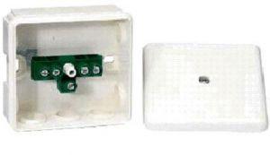 Розподільча коробка 87х87х39 IP65 з клемною колодкою Schneider Electric IMT36077
