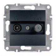 Розетка TV - SAT кінцева ASFORA Антрацит Schneider Electric EPH3400171