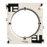 Коробка для зовнішнього монтажу кремова Asfora Schneider Electric EPH6100123