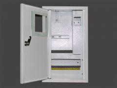 Щит встроенный для 1 фазного счетчика и 10 модулей NOVA ШМР-1Ф-В-10