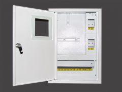 Щит встроенный для 1 фазного счетчика и 16 модулей NOVA ШМР-1Ф-В-16