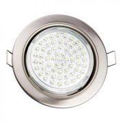 Встроенный светодиодный светильник GX53 хром