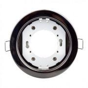 Встроенный светодиодный светильник GX53 черный хром