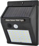 Підсвітка для стіни 4W 6500K IP65 з датчиком руху + сонячна панель + акумулятор Lemanso LM33007