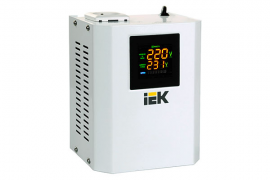 Стабілізатор напруги Boiler 0,5 кВА електронний настінний IEK IVS24-1-00500