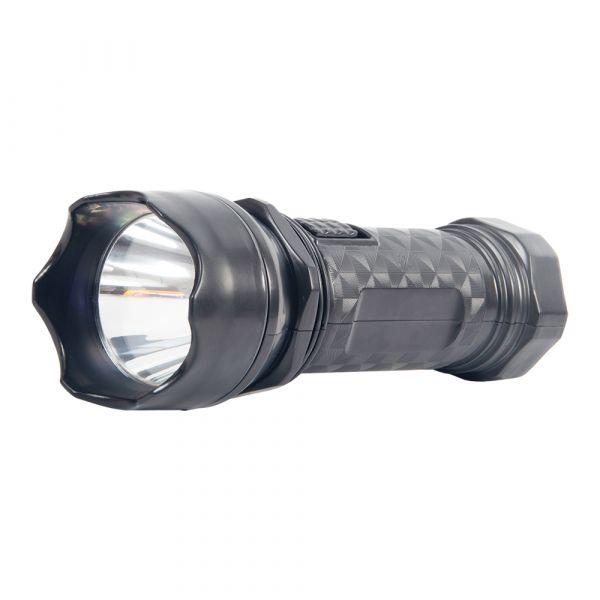 LED ліхтар ручний акумуляторний Lebron L-HL-12 1W 250mAh чорний