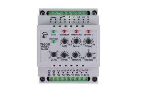 Блок захисту асинхронних електродвигунів універсальний УБЗ-301 10-100А 380В/50Гц Новатек