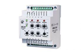 Блок захисту асинхронних електродвигунів універсальний УБЗ-301 5-50А 380В/50Гц Новатек