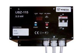 Блок защиты однофазных асинхронных электродвигателей УБЗ-115 до 5,5 кВт 25А 220В / 50Гц Новатэк