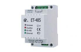 ET-485 Перетворювач інтерфейсів Modbus RTU/ASCII (RS-485)–Modbus TCP (Ethernet) Новатек