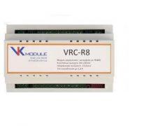 VRC-R8 Контролер віддаленного керування 8 каналів, протокол MODBUS інтерфейс RS485 Новатек