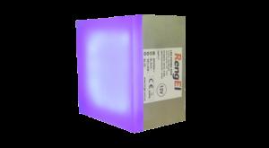 LED-бруківка 50х50х50 2,4W 12V IP68 RGB (різнокольорова) Standart