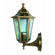 Світильник вуличний античне золото на стіну 100W ІР44 Lemanso PL6201