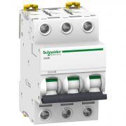 Автоматический выключатель iC60N 3P 6A C Acti9 Schneider Electric A9F79306