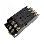 Колодка до реле РРМ78 / 4 (PYF14A) для РЕК78 / 4 (MY4) модульний IEK RRP20D-RRM-4