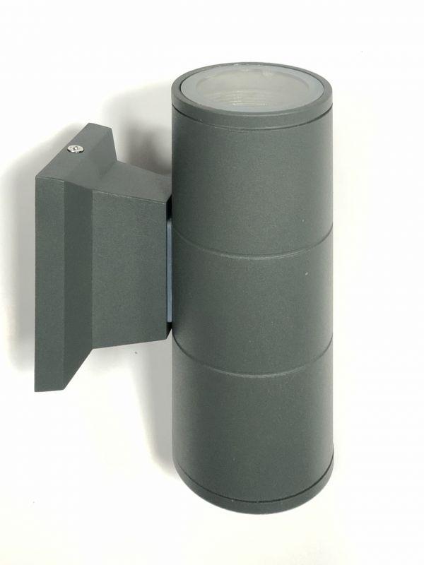 Подсветка стены серая LED Lemanso 2хGU5.3 IP65 LM1104