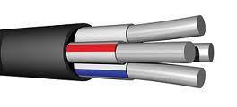 Силовий кабель алюмінієвий АВВГ 4х35