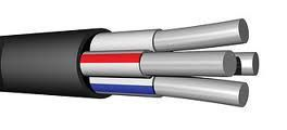 Силовий кабель алюмінієвий АВВГ 4х16
