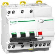 Диференційний вимикач навантаження iDPN N VIGI 3P+N 40A 30mA C AC Schneider Electric A9D31740