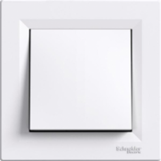 Кнопка біла Asfora Schneider Electric EPH0700121