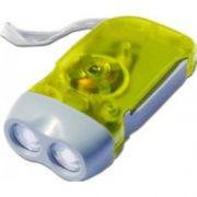 Фонарик LEMANSO 2 LED желтый LMF41