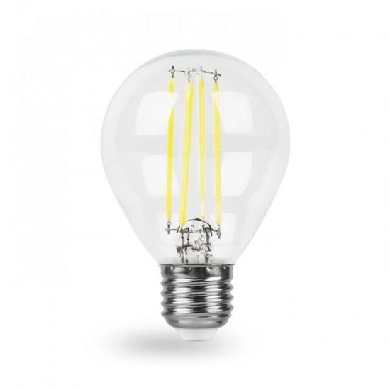 Лампа светодиодная 7W E27 2700K filament Feron LB-162 G45