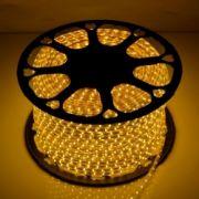 Светодиодная LED лента 220V SMD2835 60 IP67 желтый