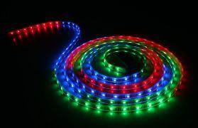 Светодиодная LED лента 220V SMD5050 60 IP67 RGB