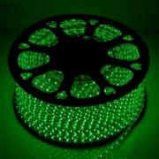 Светодиодная LED лента 220V SMD5050 60 IP67 зеленый