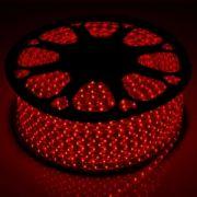 Светодиодная LED лкнта 220V SMD5050 60 IP67 красный