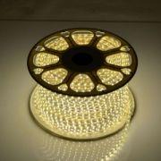 Светодиодная LED лента 220V SMD 3014 120 IP67 теплый белый
