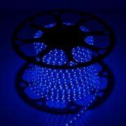 Светодиодная LED лента 220V SMD 2835 60 IP67 синий