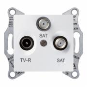 Розетка TV/R/SAT кінцева біла Sedna Schneider Electric SDN3501321