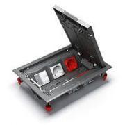 Лючок фальшпол 6 модулей 45х45 ULTRA 82х187х270 серый Schneider Electric ETK44112